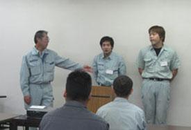 試験課 課長 清野茂様より講師のご紹介